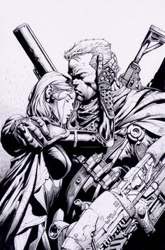 X Force 27: David Finch by boysicat on DeviantArt