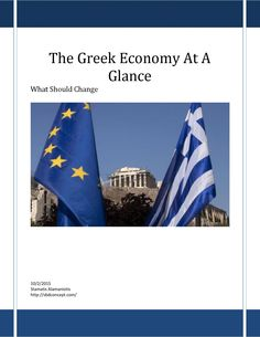 Greek economy at a glance