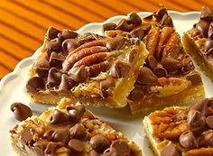 toffee and fall just seem to go together. ::: English Toffee Bars