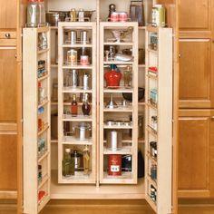 "Rev-A-Shelf 51"" Swing Out Pantry Kit Maple 4WP18-51-KIT | CabinetParts.com"