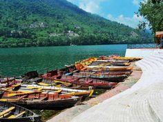 Bhimtal Lake at Bhimtal