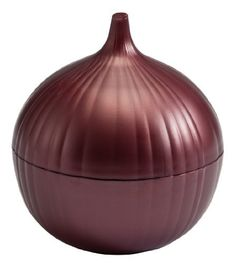 Hutzler Onion Saver, Red by Gourmac. $7.11. Contains onion odors. Dishwasher safe and bpa-free. Extends the shelf life of a cut onion. Easy to spot in the refrigerator. Great for serving onion slices as a garnish by the bbq. Contain onion odors while keeping cut onions fresh and moist.Made to look just like an onion, the Onion Saver will never be lost and forgotten in the fridge. Also great for serving onion slices for a burger at your next barbeque. The 2 sides atta...