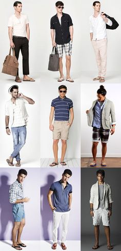 Men's Flip Flops Lookbook