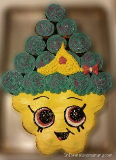 shopkins cupcake cake 2