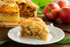 Healthy Pie Recipes, Raw Food Recipes, Cooking Recipes, American Apple Pie, Apple Health Benefits, Sweet Pie, No Cook Desserts, Evening Meals, Food And Drink