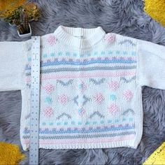 Vintage Sweaters - VINTAGE Oversized & Slouchy 90s Sweater