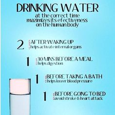 Guidelines to drinking water