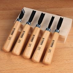 Narex 5-Pc. Starter Carving Chisel Set