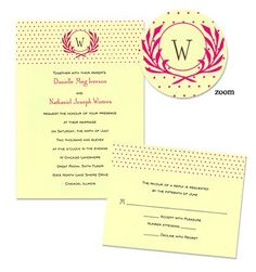 invites with different colors
