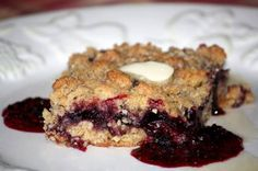 best blackberry crumble
