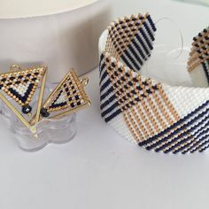 Timoo 20 Pcs Metal Blank Bangles, Stainless Steel Adjustable Expandable Wire Blank Bracelets for Women's DIY Jewelry Making (Gold, – Fine Jewelry & Collectibles Beaded Jewelry Designs, Bead Jewellery, Seed Bead Jewelry, Jewelry Patterns, Bracelet Patterns, Bead Loom Patterns, Beading Patterns, Bead Loom Bracelets, Peyote Bracelet