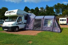 Our new Vango Air awning.