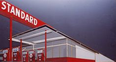 Standard Station, after Ed Ruscha (from Pictures of Cars) by Vik Muniz