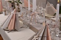 Dinner Party Decorations, Wedding Decorations, Table Decorations, Napkin Folding, Napkins, Restaurant, Inspiration, Projects, Diy