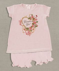 Love this Blush 'Grandma's Girl' Tee & Bloomers - Infant by Tesa Babe on #zulily! #zulilyfinds