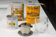 Things you need to make Vietnamese Iced Coffee