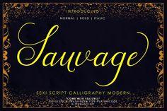 Sauvage Script from FontBundles.net