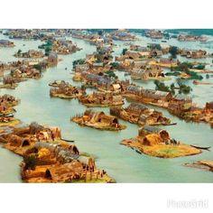 #Irak'ta 'Yüzer Basket Evler' ismi verilen ilginç yerleşim yeri ♥♥♥  #In Iraq 'Floating Basket Homes' called interesting place ♥♥♥