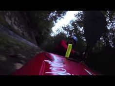▶ Kayaking Down a Concrete Drainage Ditch at 56 km h - YouTube