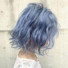 Hair Dye Colors, Cool Hair Color, Cut My Hair, Hair Cuts, Korean Hair Color, Ulzzang Hair, Candy Hair, Haircut And Color, Aesthetic Hair