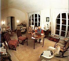 Picasso - ONE OF HIS HOUSES -  Notre-Dame-de-Vie