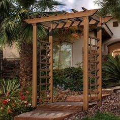 Finish your backyard with a gazebo or pergola from Sam's Club. Choose from wood, metal and other materials for the outdoor patio of your dreams! Small Pergola, Cheap Pergola, Backyard Pergola, Pergola Shade, Pergola Kits, Pergola Ideas, Arbor Ideas, Pergola Plans, Garage Pergola