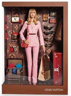 Barbie Vogue Paris Louis Vuitton