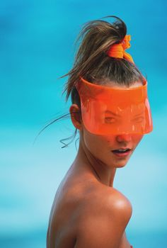 Fantastic plastic : sun visor