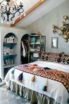 To find some inspired boho bedroom decorating to a budget is constantly a battle. It is an enjoyable approach to decorate that the bedroom. This may bring about a unique . Read Wonderful Inspired Boho Bedroom Decorating On A Budget For Unique Look Dream Bedroom, Home Bedroom, Bedroom Ideas, Bedroom Designs, Master Bedroom, Bedroom Inspiration, Bed Designs, Interior Inspiration, Bedroom Furniture