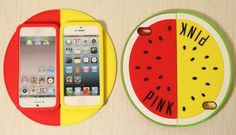 PINK可愛いスイカiPhone5/4Sシリコンケース 素敵 - gamekool.netスマホケース、ゲーム情報伝達屋 http://www.gamekool.net/index.php?main_page=product_info&cPath=94&products_id=906