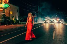"""Ella Henderson Drops Bluesy-Pop On Her Debut Single/Video """"Ghost"""". Sam Bailey, Ella Anderson, Red Gowns, Her Music, Celebs, Celebrities, Debut Album, Photoshoot, Style Inspiration"""