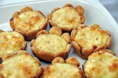 Mini Crab Quiche Recipe | ButteryBooks.com