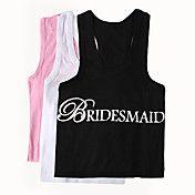 """BRIDESMAID"" Vest (More Colors) – USD $ 10.49"