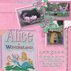 Alice in Wonderland (ride) - MouseScrappers.com