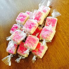 Rice sweets for treat boxes