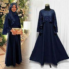 Outfit Essentials, Dress Brukat, Hijab Dress, Muslim Prom Dress, Hijab Mode Inspiration, Hijab Stile, Model Kebaya, Hijab Chic, Ray Bans