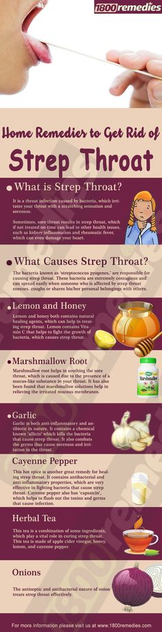 Relying on home remedies to get rid of strep throat is not only safe but also effective. So, let's look into some home remedies to get rid of strep throat.