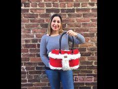 Crochet Santa Claus Bag Tutorial - YouTube