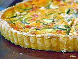 Easy Zucchini, Tomato, and Cheese Tart Recipe from Food Network Zucchini Cheese, Zucchini Tomato, Zucchini Tart, Quinoa, Tomato Tart Recipe, Tapas, Cheese Tarts, Cheese Quiche, Tomato And Cheese