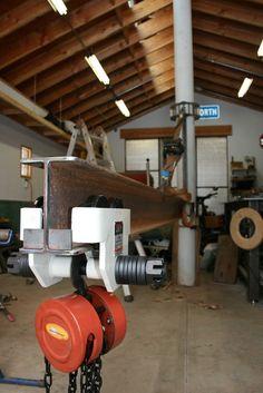 Home made jib crane - The Garage Journal Board: