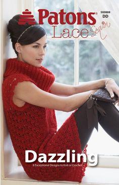 Dazzling | Yarn | Free Knitting Patterns | Crochet Patterns | Yarnspirations