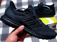 Look at the webpage press the grey link for more options - nike adidas sneakers All Black Adidas, All Black Sneakers, Running Sneakers, Running Shoes For Men, Ultra Boost Triple Black, Adidas Originals, Mens Fashion Shoes, Runway Fashion, Fashion Trends