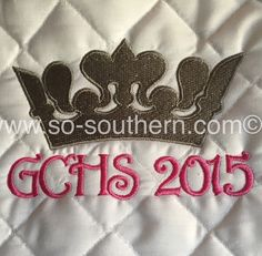 Germantown Charity Horse Show pad by So Southern!