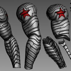 winter-soldier-arm-version-2-3d-printable-model-stl-obj-file-by-do3d-com
