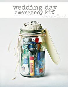 Kit de emergencia para bodas... ¡descúbrelo!