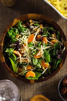 Salads shouldn't be boring, which is why our Field Green & Citrus Provolone Salad isn't. Top your greens with clementines, walnuts and homemade citrus dressing and you'll see what we're talking about. Get the entire recipe here.