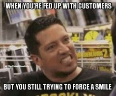 Impractical Jokers on truTV Sal Vulcano Retail Quotes, Retail Humor, Cashier Problems, Retail Problems, I Hate Work, Server Life, Jokers Wild, Walmart Funny, Lines Quotes
