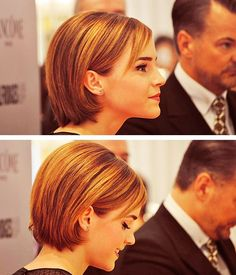 Emma Watson looks good in seriously every single hair color and style there ever was, is and will be.