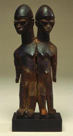 """A Lobi figure from the Maurer Collection  bateba Figure (Lobi) 7.2"""" http://www.amherst.edu/~afroart/14maurer.html"""