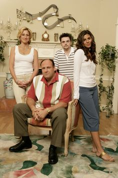 RIP Gandolfini    The Sopranos family photos